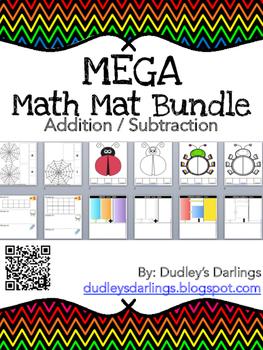 Mega Math Mat Bundle (Addition / Subtraction)