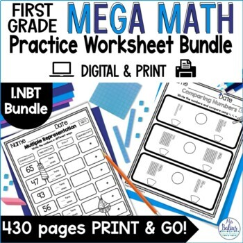 Numbers and Operations in Base Ten Mega Math Practice Bund