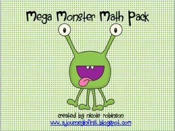 Mega Monster Math Pack