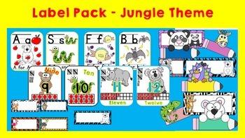 Labels - Bundle Jungle & Zoo Theme