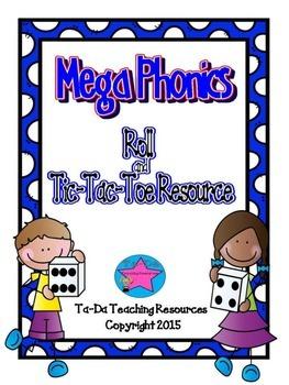 Mega Phonics Tic Tac Toe Resource