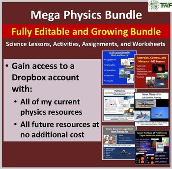 Mega Physics Collection - Fully editable and growing physi