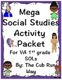 Mega Social Studies Pack! Newport, Jefferson, Pocahontas a