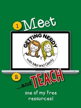 Mel and Gerdy's Meet and Teach eBook Freebie!