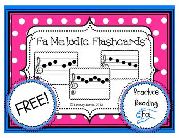 Melodic Transition Flashcards: fa