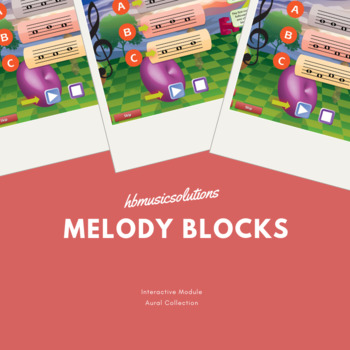 Melody Blocks in C Interactive Activity