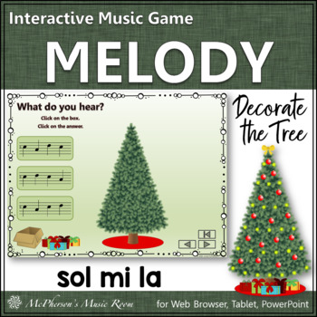 Melody: Decorate the Christmas Tree Interactive Music Game