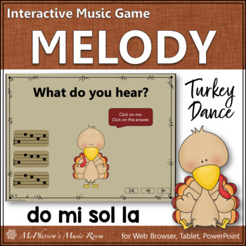 Melody Do Mi Sol La (DMSL) - Turkey Dance Interactive Music Game