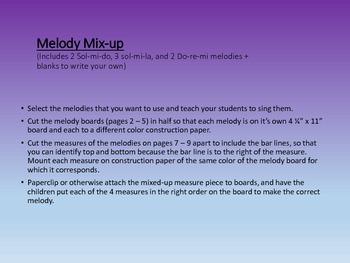 Melody Mix-up