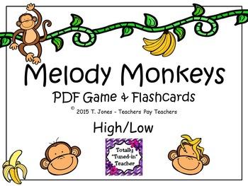 Melody Monkeys: High/Low Set