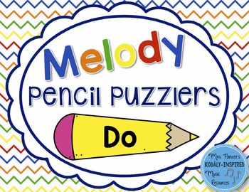 Melody Pencil Puzzlers {Do}