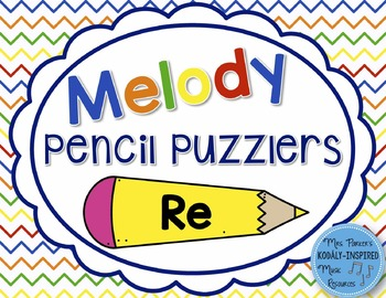 Melody Pencil Puzzlers {Re}