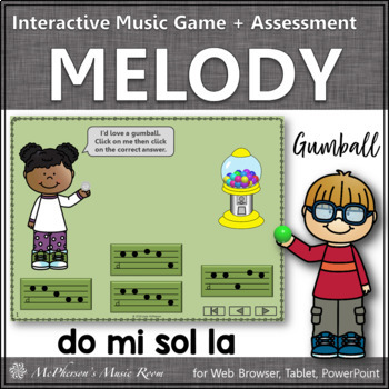 Melody Time with Do Mi Sol La Interactive Music Game + Ass