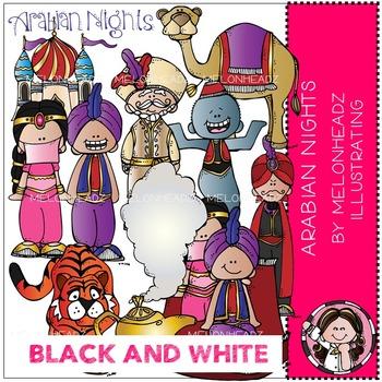 Melonheadz: Arabian Nights BLACK AND WHITE