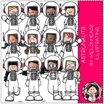 Melonheadz: Astronauts clip art