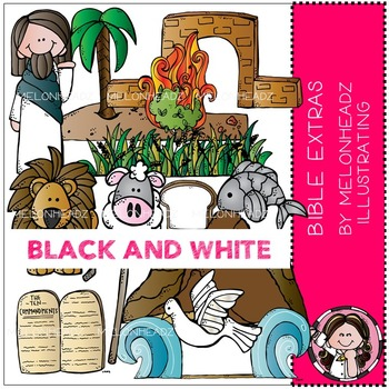 Melonheadz: Bible Extras BLACK AND WHITE