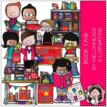 Melonheadz: Book Fair clip art