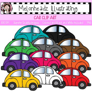 Melonheadz: Car clip art - Single Image