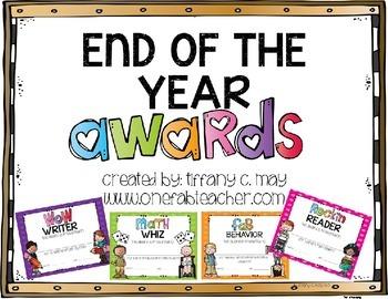 Melonheadz Editable End of The Year Awards