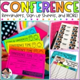 {Melonheadz Edition} Editable Parent Conference Reminders