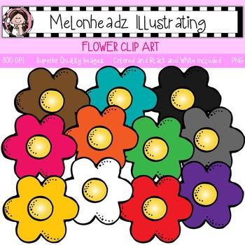 Melonheadz: Flower clip art - Single Image