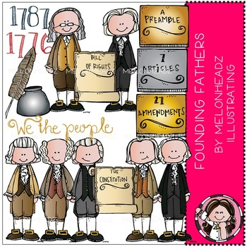 Melonheadz: Founding Fathers