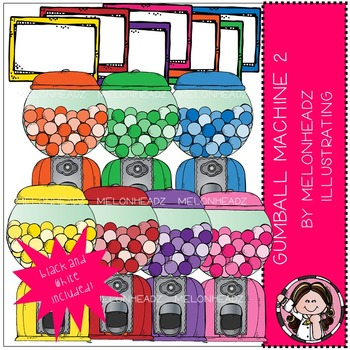 Melonheadz: Gumball Machine 2 Clip Art