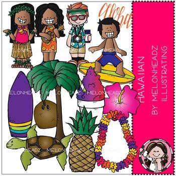 Melonheadz: Hawaiian clip art - COMBO PACK