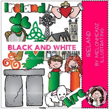 Melonheadz: Ireland BLACK AND WHITE