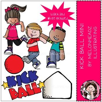 Melonheadz: Kick Ball clip art Mini Set
