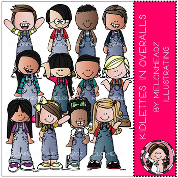 Melonheadz: Kidlettes in Overalls - Combo Pack