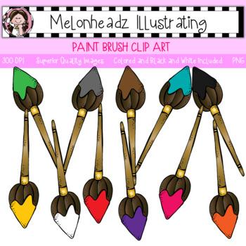 Melonheadz: Paint Brush clip art - Single Image