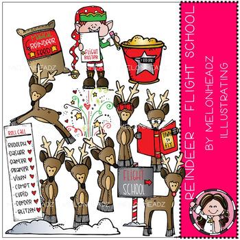 Melonheadz: Reindeer clip art - Flight School