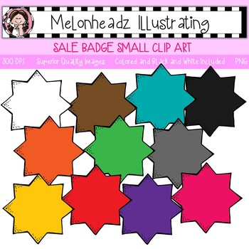 Melonheadz: Sale Badge clip art - Small - Single Image