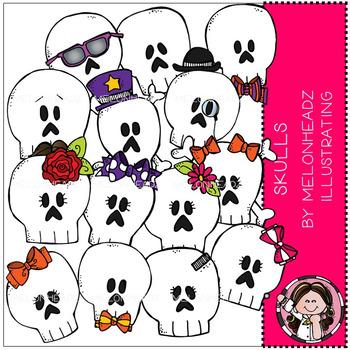 Melonheadz: Skulls clip art