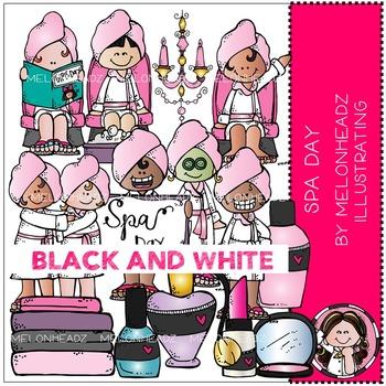 Melonheadz: Spa Day BLACK AND WHITE