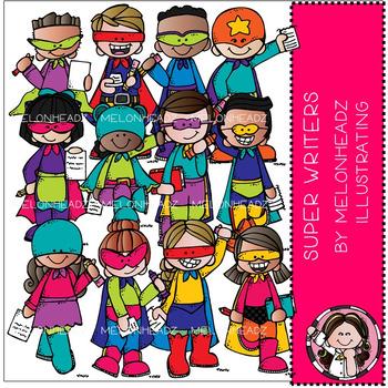 Melonheadz: Super Writers clip art - COMBO PACK