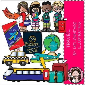 Melonheadz: Travel clip art