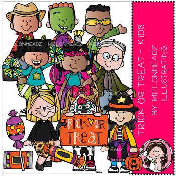 Melonheadz: Trick or Treat clip art - Kids - Combo Pack