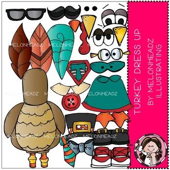 Melonheadz: Turkey Dress Up