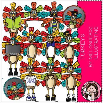 Melonheadz: Turkey clip art