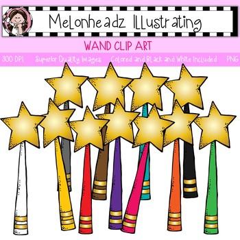 Melonheadz: Wand clip art - Single Image