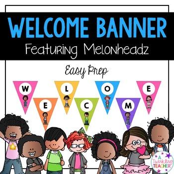 Melonheadz Welcome Banner