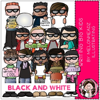 Melonheadz: Writing Big Kids BLACK AND WHITE
