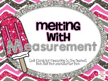Melting with Measurement: Measuring to the inch, 1/2 inch