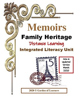 Memoirs Family Heritage Project ~ Integrated ELA Unit