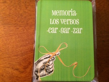 "Memoria ""car"", ""gar"", ""zar"" Game"