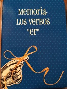 """Memoria los verbos """"er"""""""