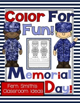 Coloring Pages for Memorial Day Free
