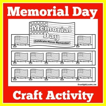 Memorial Day Activity | Memorial Day Craft | Memorial Day